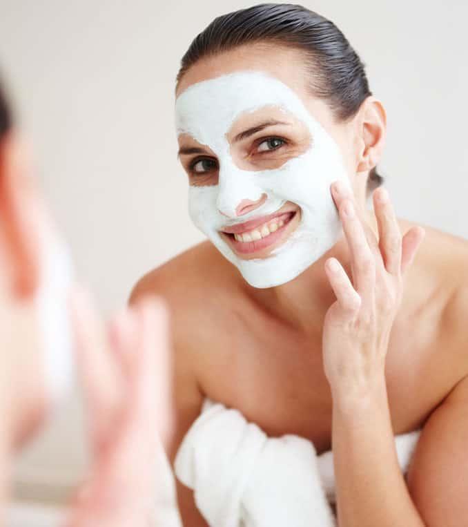 Mask Acne Skin